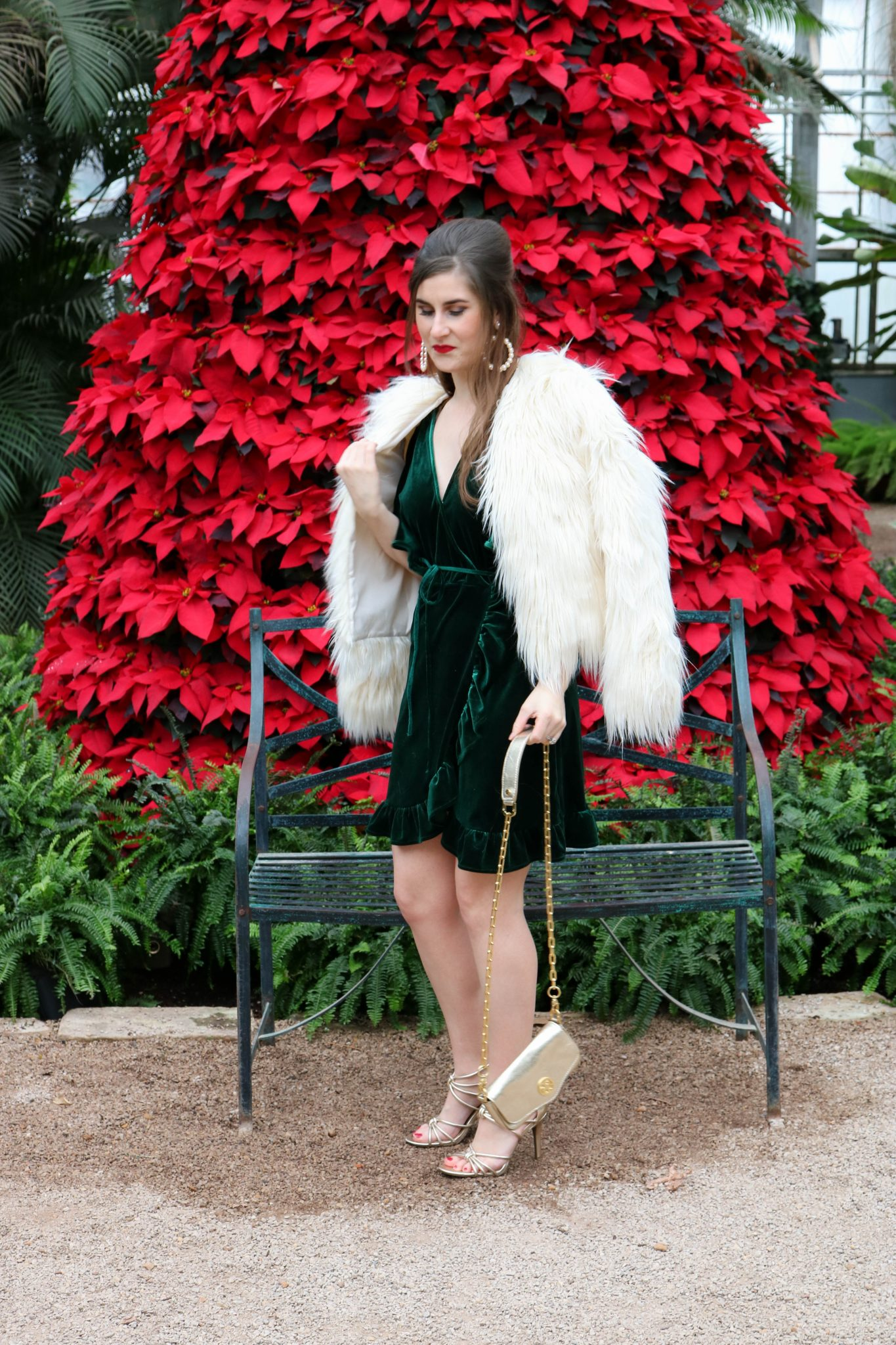 Glam Christmas Outfit A Byers Guide